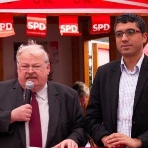 Guntram Schneider und Serdar Yüksel