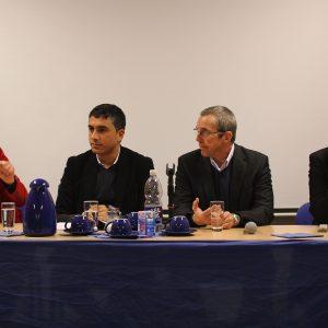 Gabriela Schäfer, Serary Yüksel, Ernst Steinbach und Dr. David Gehne