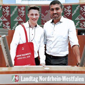 Moritz Wentingmann und Serdar Yüksel